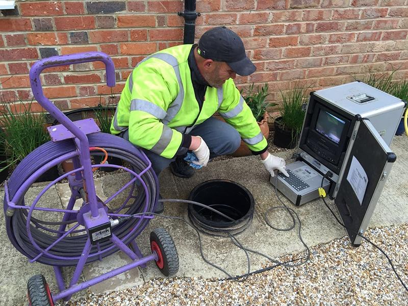 CCTV Drain Survey Wokingham