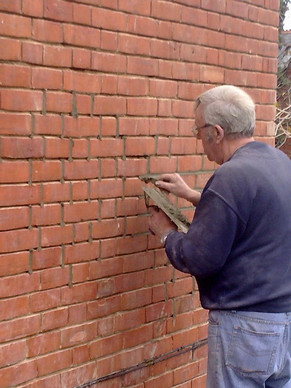 Repointing A Chimney : Repointing brian parker services