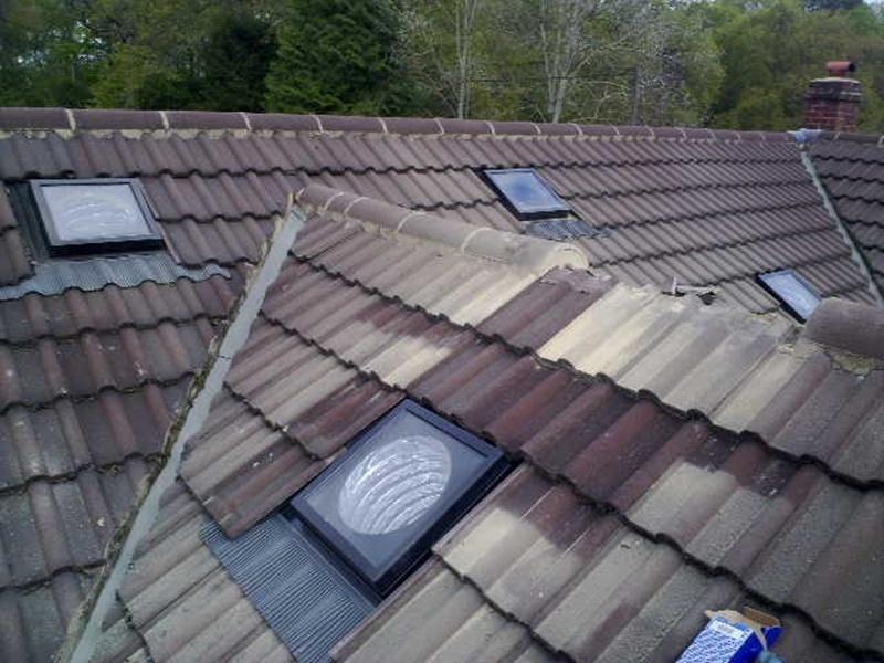 ridge tile repair berkshire